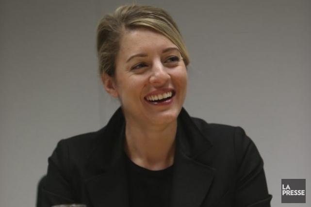 Mélanie Joly... (Photo Martin Chamberland, La Presse)