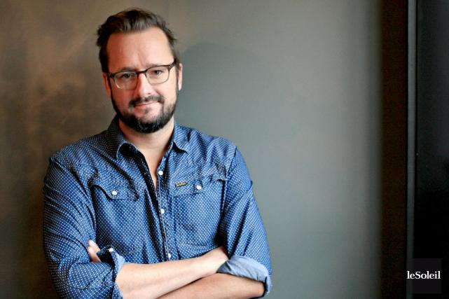 Rémi-Pierre Paquin, président d'honneur du Festi-Volant.... (Le Soleil, Pascal Ratthé)