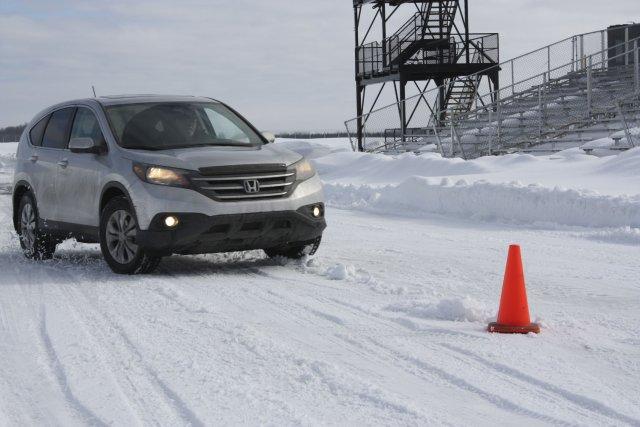 Les essais ont été effectués avec deux Honda... (Photo Jean-François Guay, collaboration spéciale)