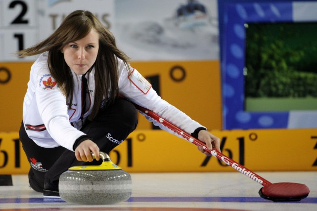 Rachel Homan... (Photo d'archives, Associated Press)