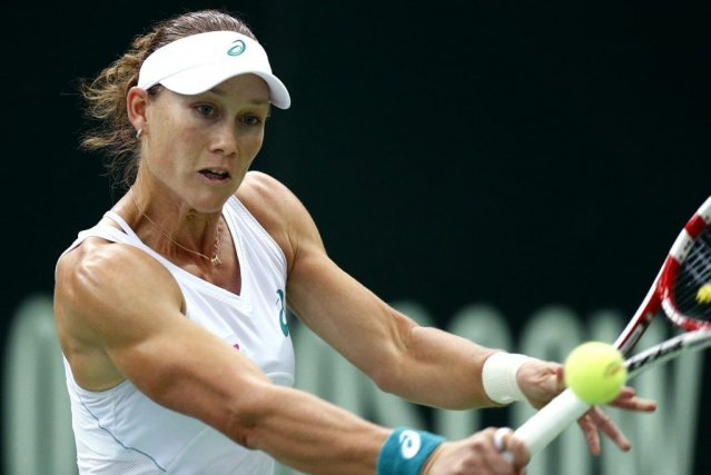 Samantha Stosur... (PHOTO ARCHIVES ASSOCIATED PRESS)
