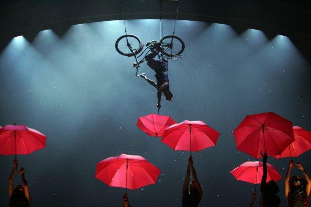 Le Cirque du Soleil a présenté des spectacles... (Photo Wally Santana, archives AP)