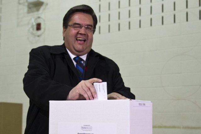 Le nouveau maire de Montréal, Denis Coderre.... (Olivier Jean)