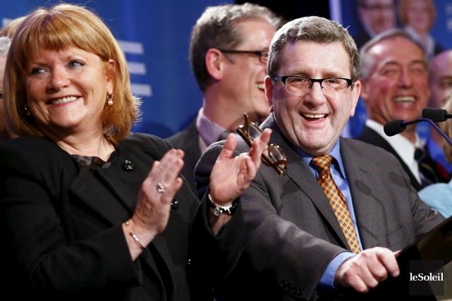 Les états financiers du parti du maire Labeaume... (Photothèque Le Soleil, Yan Doublet)