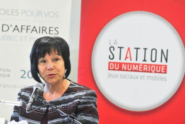 La ministre Élaine Zakaïb a annoncé des investissements... (Photo: Émilie O'Connor)