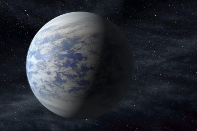 En avril dernier, une planète de la taille... (AP/NASA)