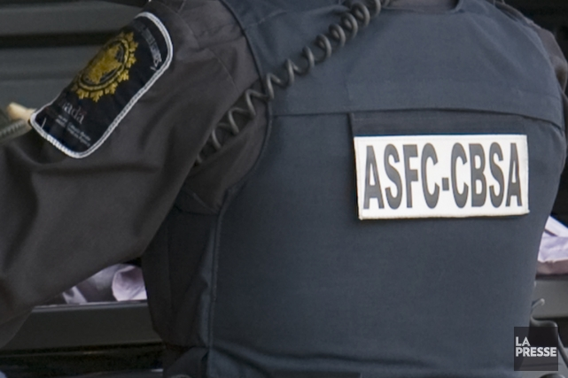 Grâce à une information transmise par une autorité policière internationale,... (Photo archives La Presse)