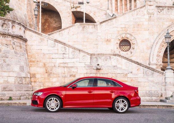 La Audi A3 berline sera dévoilée en première... (Photo fournie par Audi)