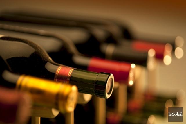 Depuis mars, l'inventaire de bouteilles de vin à... (Photothèque Le Soleil)