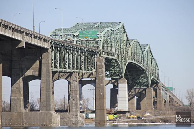 La gestion du dossier du remplacement du pont... (Photo François Roy, La Presse)
