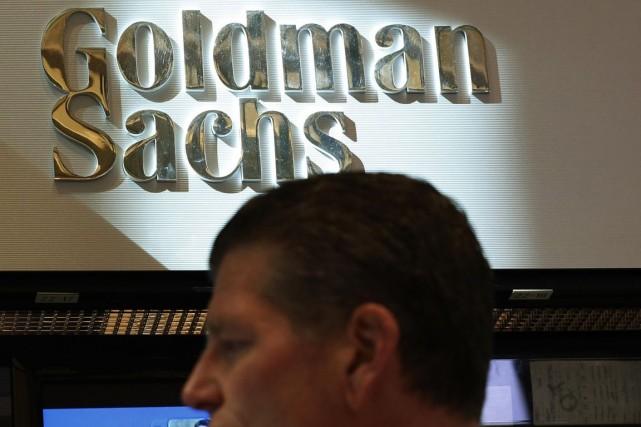 La banque d'investissement américaine Goldman Sachs (GS)a... (PHOTO BRENDAN MCDERMID, REUTERS)