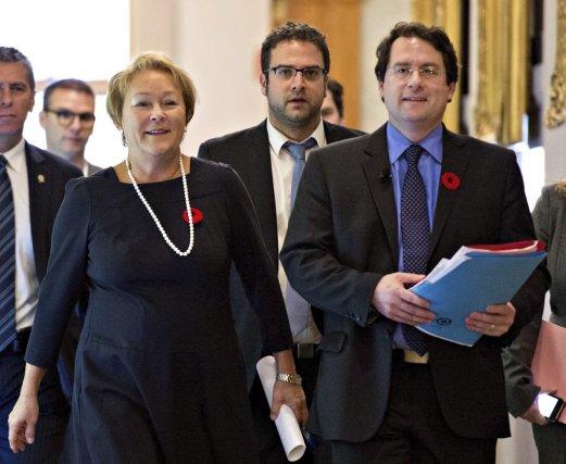 Premier ministre rencontre pauline marois