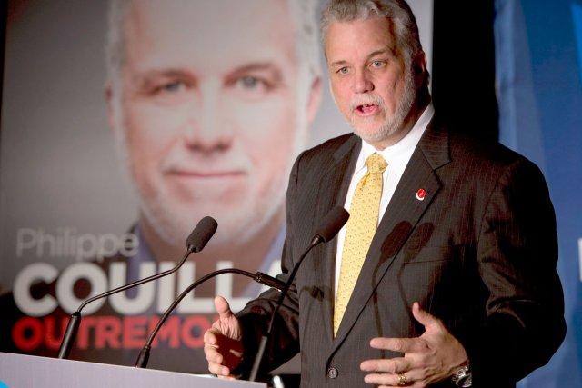 Philippe Couillard, chef du PLQ... (La Presse Canadienne)