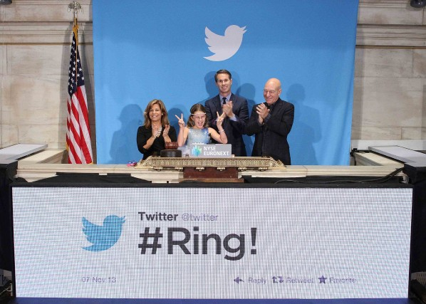 En novembre 2013, Twitter avait levé 14,4 milliards... (Photo Reuters)