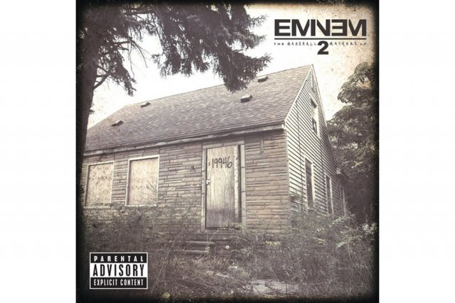 The Marshall Mathers LP 2 d'Eminem...