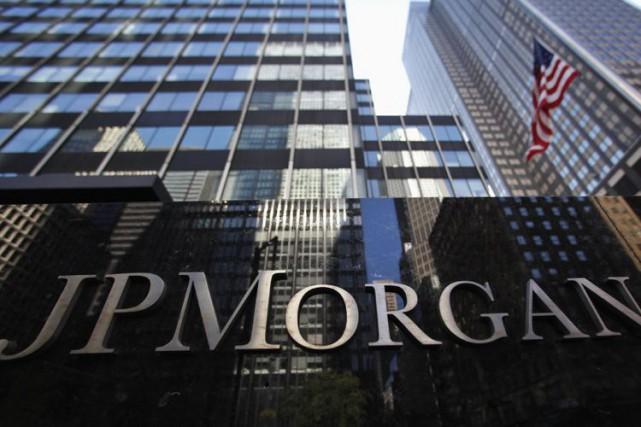 JPMorgan Chase est la première banque américaine en... (Photo archives Reuters)