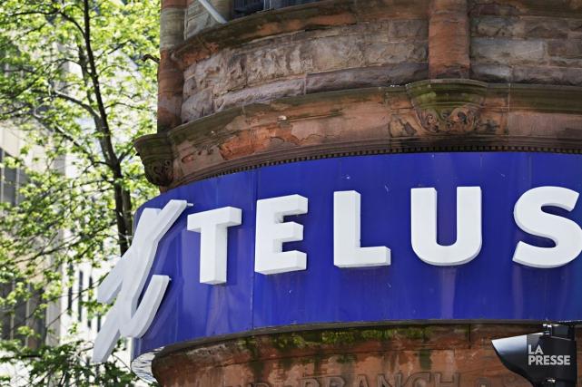 Le géant canadien des télécommunications Telus (T.T) a annoncé... (PHOTO ANNE GAUTHIER, LA PRESSE)