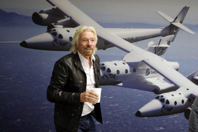 Richard Branson... (Photo: AP)
