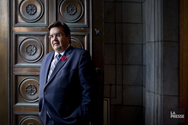 Denis Coderre... (PHOTO MARCO CAMPANOZZI, LA PRESSE)