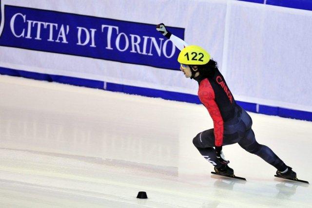 La saison de rêve de Charles Hamelin se... (Photo Massimo Pinca, AP)