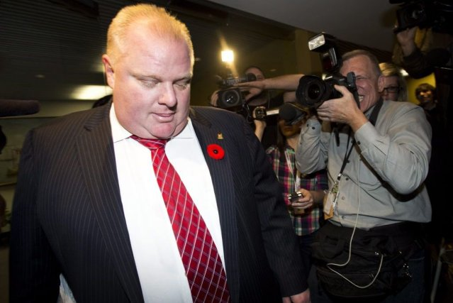 Rob Ford... (Photo La Presse Canadienne)