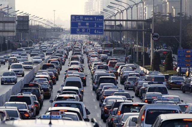 Au total, 23,49 millions de véhicules ont été... (PHOTO ARCHIVES AGENCE FRANCE-PRESSE)