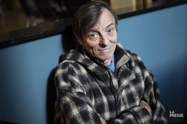 L'écrivain Robert Lalonde n'est pas devenu comédien pour... (Photo: Édouard Plante-Fréchette, La Presse)