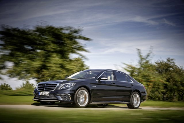 La Mercedes S 65 AMG... (Photo fournie par Mercedes-Benz)