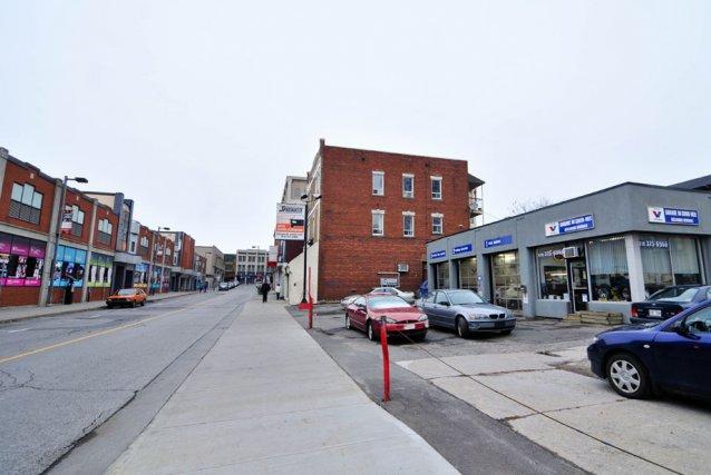 Deux agressions au couteau sont survenues au centre-ville... (Photo: Émilie O'Connor)