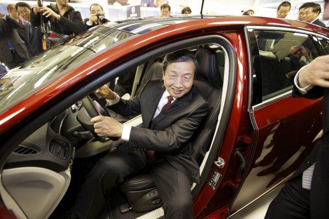 Le vice-premier ministre chinois Ma Kai alors qu'il... (PHOTO NICOLAS MAETERLINCK, AFP)