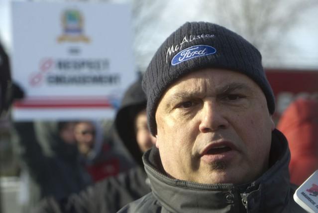 Louis Lesage, président de l'Association des policiers-pompiers de... (Photo: Stéphane Lessard)