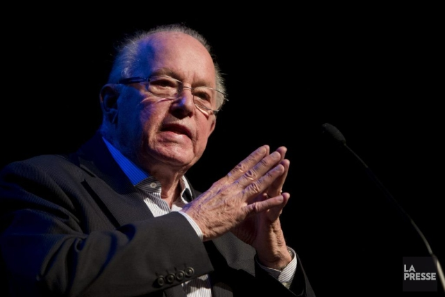 Bernard Landry... (PHOTO ROBERT SKINNER, ARCHIVES LA PRESSE)