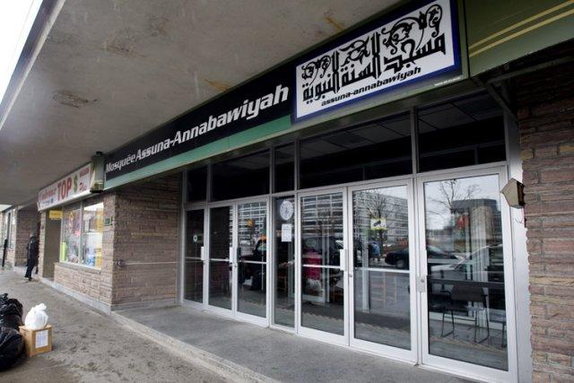 La mosquée figure dans plusieurs documents judiciaires canadiens,... (Photo: PC)