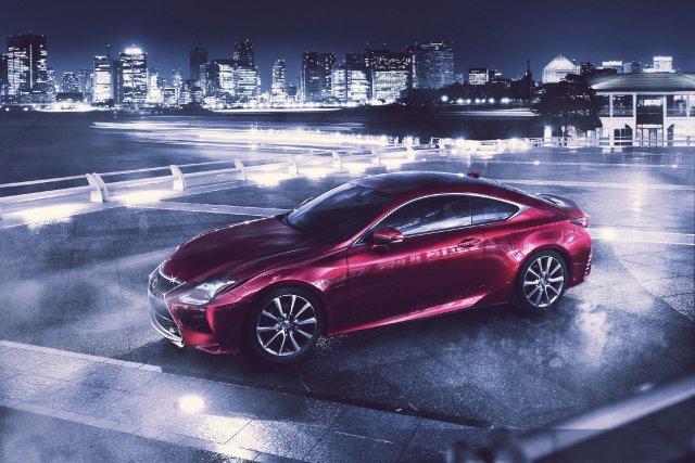 La Lexus RC sera présentée à Tokyo.... (Photo fournie par Lexus)