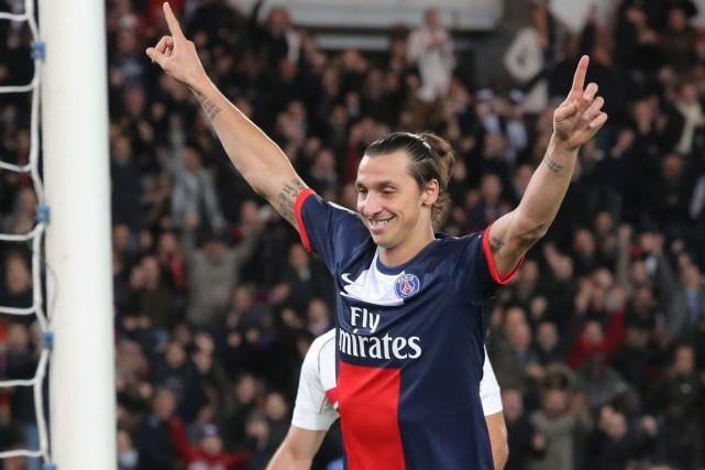 Zlatan Ibrahimovic a inscrit 25 buts pour le... (Photo Michel Euler, archives AP)