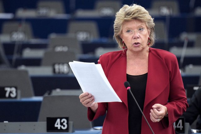 Viviane Reding... (Photo: AFP)