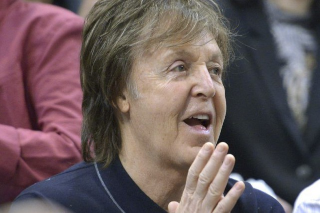Paul McCartney... (PHOTO ARCHIVES AP)