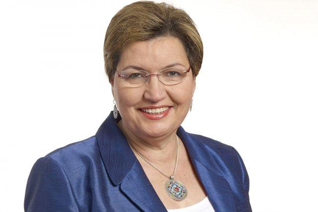 La députée libérale Fatima Houda-Pépin est en rupture... (Photo fournie par le PLQ)