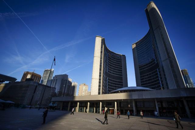 L'Hôtel de Ville de Toronto.... (PHOTO MARK BLINCH, ARCHIVES REUTERS)