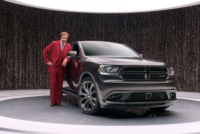 Will Ferrell incarne son personnage de Ron Burgundy... (Photo fournie par Chrysler)