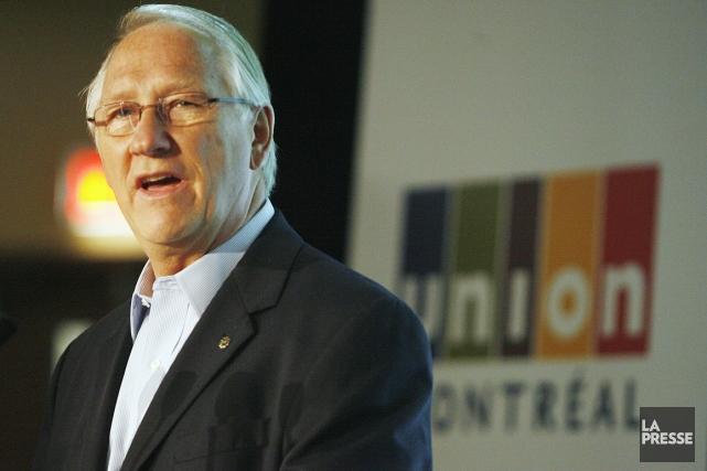 L'ex-maire de Montréal et chef d'Union Montréal Gérald... (Photo archives La Presse)