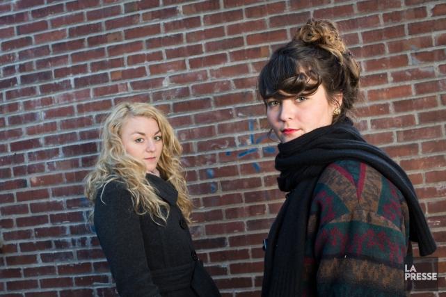 Les soeurs Boulay... (Photo: Édouard Plante-Fréchette, archives La Presse)