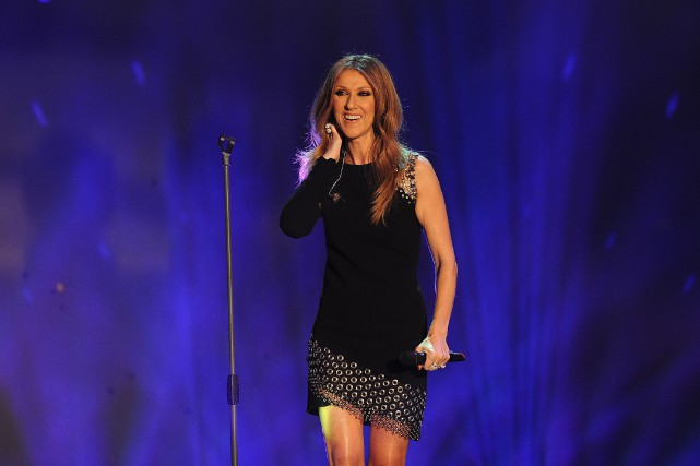 Céline Dion... (Photo AFP)