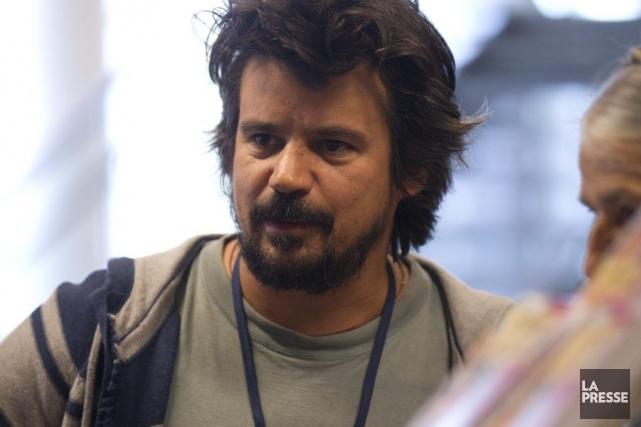 Le comédien et réalisateurRobin Aubert... (Photo: Olivier Jean, archives La Presse)