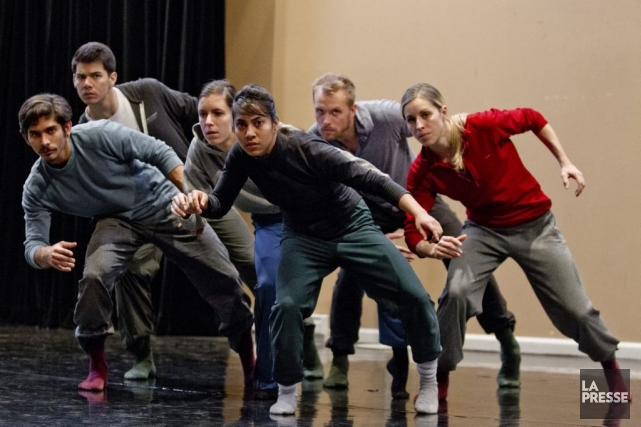 Le chorégraphe de danse contemporaine Victor Quijada, en... (PHOTO MARCO CAMPANOZZI, LA PRESSE)