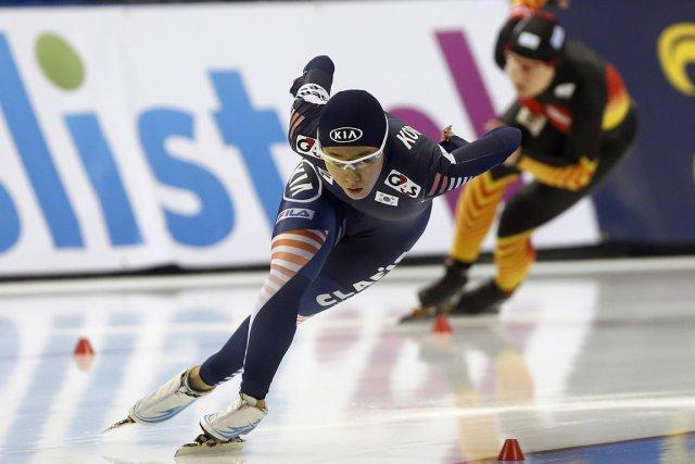 Lee Sang-hwa... (Photo Jim Urquhart-USA TODAY Sports)