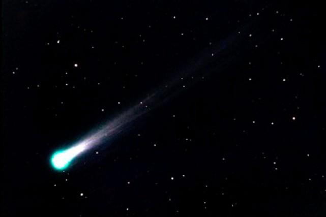 Une comète... (Photo fournie par Éric Allen de l'observatoire du cégep de Trois-Rivières à Champlain)