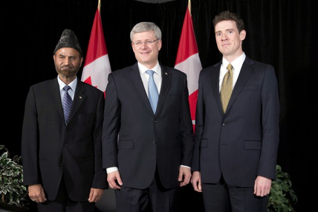 Le 19 février dernier, le premier ministre Stephen... (Photo: PC)