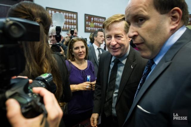 Le nouveau maire de Laval Marc Demers.... (Photo Édouard Plante-Fréchette, La Presse)