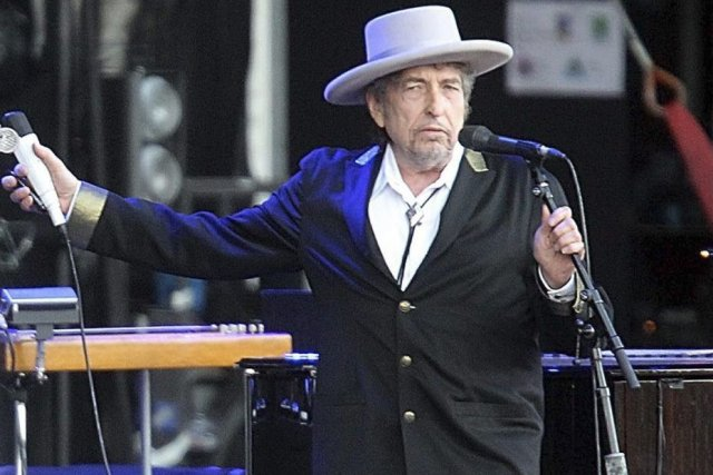 Bob Dylan en juillet 2012.... (Photo: archives AP)